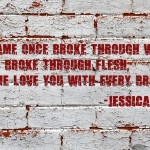 Breaking Through Walls by Jessica Kristie