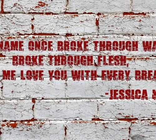 Breaking Through Walls by Jessica Kristie