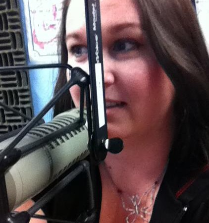 Me on a radio show not to long ago. :)