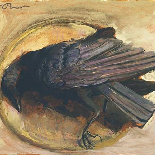 HENRY VARNUM POOR (1888–1970)  Dead Crow, circa 1943